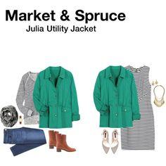 Market & Spruce Julia Utility Jacket